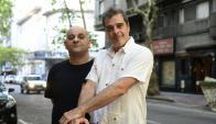 Marcel Keoroglian y Alejandro Balbis. Foto: Marcelo Bonjour
