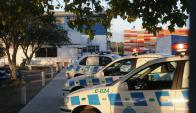 Seccional 24°: ayer el homicida se entregó en la comisaría. Foto: archivo El País