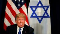 Donald Trump en el Foro Económico de Davos. Foto: Reuters