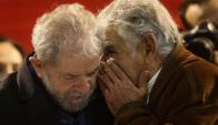 El expresidente Mujica dijo que no viajó a Brasil a acompañar a Lula por razones de salud. Foto: EFE