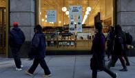 El supermercado sin cajeros de Amazon. Foto: EFE