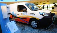 Transporte: recarga de estaciones para autos de UTE. Foto: Archivo El País