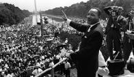 Martin Luther King. Foto: AFP