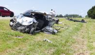 Accidente de tránsito en San Carlos. Foto: Ricardo Figueredo