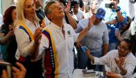 Sectores de la MUD juntan firmas para evitar la inhabilitación. Foto: Reuters