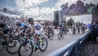 Uruguay en la Vuelta a San Juan. Foto: FCU.