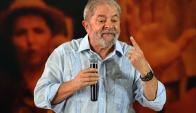 La defensa de Lula presentó un recurso de amparo. Foto: AFP