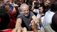 La defensa de Lula presentó un recurso de amparo. Foto: Reuters
