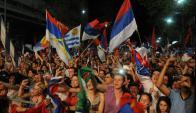 El FA convoca a movilizar a toda su militancia en respaldo al gobierno. Foto: F. Flores