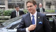 Katainen: el vicepresidente de la UE sigue siendo optimista. Foto: AFP