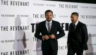 Leonardo DiCaprio y Tom Hardy