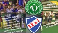 Nacional-Chapecoense. Foto: Captura de Video.