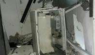 Explotaron cajero automático en Canelones. Foto: El País