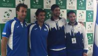 Copa Davis. Foto: Prensa AUT.