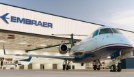 Embraer: es la tercera mayor fabricante de aviones en el mundo. Foto: AFP