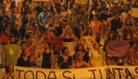 """""""La lucha por la paridad no termina, queremos paridad en todo"""", dijo vocera. Foto: Archivo"""