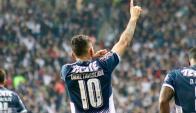 Jonathan Urretaviscaya hizo el quinto gol de Monterrey sobre León