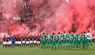 Bologna Fiorentina por la Serie A. Foto: EFE