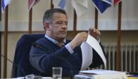 Pablo Caram, intendente de Artigas. Foto: Gerardo Pérez.