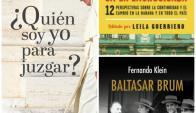 Baltazar Brum, Quién soy yo para juzgar y Cuba en la encrucijada. Foto: Difusión