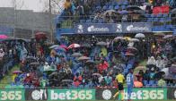 El frío en La Liga de España. Foto: EFE