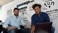 Rumbo. Alejandro Esperanza y Andrés Israel buscan posicionar la marca como referente en tecnología del sector. (Foto: Fernando Ponzetto)