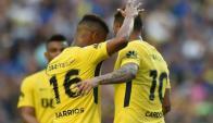 Boca. El escándalo de los jugadores Barrios y Cardona salpicó la imagen del club.