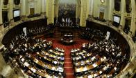 Los dos proyectos para el agro se discutieron y se votaron en dos días en el Parlamento. Foto: D. Borrelli
