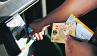 Las bandas precisan la información que tienen las bandas magnéticas de las tarjetas y el PIN. Foto: Juan Gonzalez Galaz