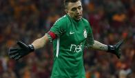 Fernando Muslera, sigue siendo estrella del Galatasaray
