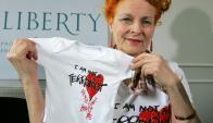 Vivienne Westwood. Foto: AFP