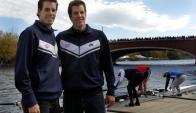 Winklevoss. Tyler y Cameron son conocidos rivales del creador de Facebook. Foto. Reuters.