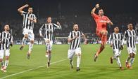 Juventus festejó ante Fiorentina. Foto: EFE