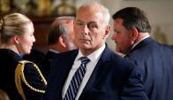 John Kelly manifestó que está dispuesto a renunciar por haberse equivocado. Foto: AFP