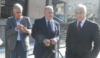 Los diputados blancos, Rodrigo Goni, Jaime Trobo y el exdiputado y exfrenteamplista Gonzalo Mujica fueron los promotores. Foto: F. Flores