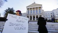 Movilizaciones espontáneas contra la violencia de género. Foto: EFE