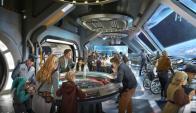 Parque. Los visitantes podrán visitar los espacios a partir de 2019. (Foto: Disney)