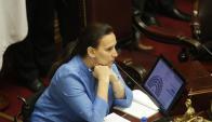 Gabriela Michetti, vicepresidenta argentina. Foto: La Nación | GDA