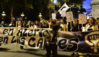 """Teresa Herrera le respondió """"que acusarnos de destruir la familia es un poco fuerte"""". Foto: G. Pérez"""