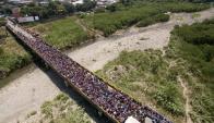 Pese a las medidas de Colombia, miles de venezolanos intentar cruzar la frontera. Foto: EFE
