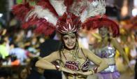 Alegría norteña: la belleza de las bailarinas en Artigas. Foto: N . Araújo