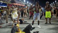 70.000 personas: es la capacidad que tiene el Sambódromo. Foto: AFP