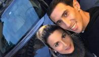 Jorgelina Cardoso salió en defensa de su esposo.