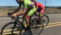Ciclismo. Anderson Maldonado y Fernando Méndez. Foto: @clubcfenix.