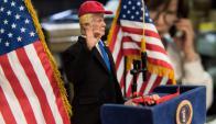 El juguete Donald Trump. Foto: AFP