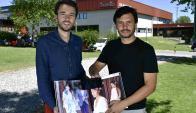 Socios. Lionel Quataert y Diego Piuma se conocieion en el Startup Weekend 2017.