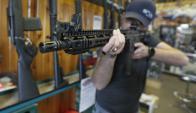 AR-15: así era el arma que utilizó Nikolas Cruz en el secundario de Florida. Foto: AFP