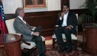 Vázquez y Maduro enfriaron su relación y hace mucho tiempo que no se comunican. Foto: AFP