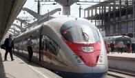 Tren de alta velocidad en Alemania. Foto: AFP