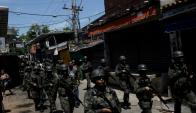 La intervención federal en la seguridad de Río es una medida inédita desde la restauración de la democracia en 1985. Foto: Reuters